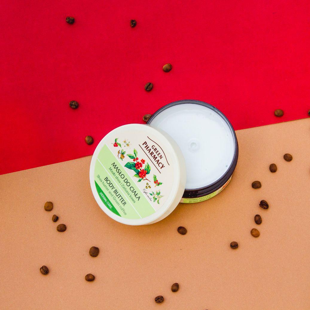 Масло за тяло със зелено кафе, Green Pharmacy, 200мл.