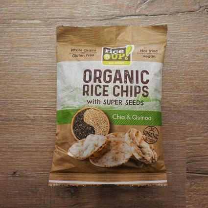 Чипс от кафяв пълнозърнест ориз с чия и киноа, Rice Up